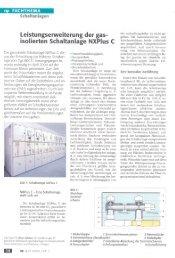 isolierten Schaltanlage NXPlus C - Siemens