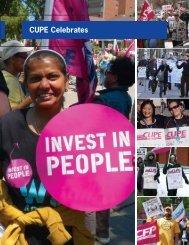 CUPE Celebrates - Canadian Union of Public Employees