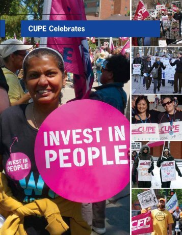 CUPE Celebrates - Canadian Union of Public Employees