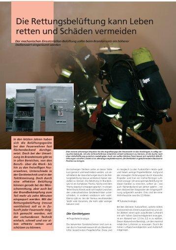 Die Rettungsbelüftung kann Leben retten und Schäden ... - Leader