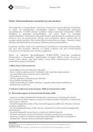 ASIAKIRJAN NIMI - Opetus- ja kulttuuriministeriö