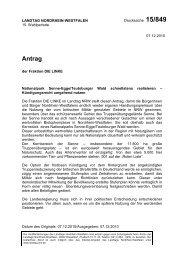 Antrag - Die Linke NRW