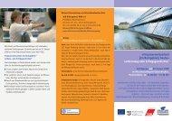 Programm - Arbeiten + Lernen an Lippe + Emscher