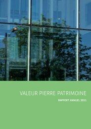 Valeur Pierre Patrimoine - BNP Paribas REIM