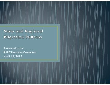 Presented to the R2PC Executive Committee April 12, 2012