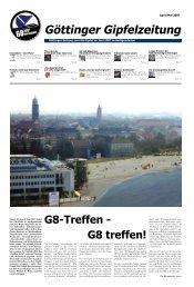 Göttinger Gipfelzeitung - Soziales Zentrum Göttingen