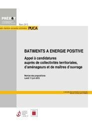 Bâtiments à énergie positive - Prebat
