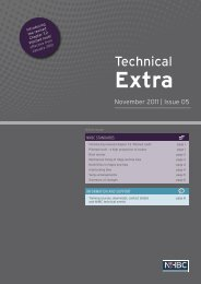 Technical Extra Issue 05 pdf - NHBC Home