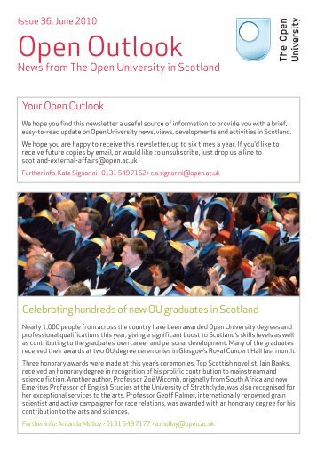 Issue 36 - June 2010 - The Open University