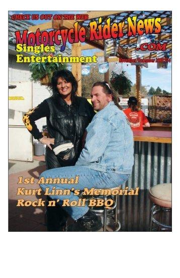November/December 2008 – V 34 - Motorcycle Rider News