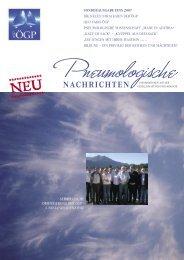 nachrichten - Österreichische Gesellschaft für Pneumologie (ÖGP)