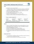 Deployment Checklist - USAA - Page 4