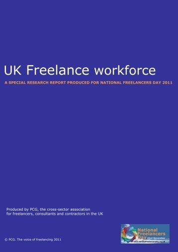 UK Freelance workforce - PCG