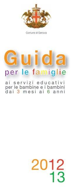 Guida per le famiglie - Comune di Genova