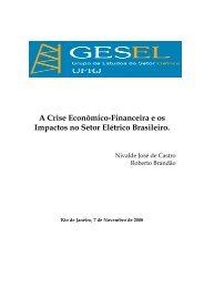 A Crise Econômico-Financeira e os Impactos no ... - Nuca - UFRJ