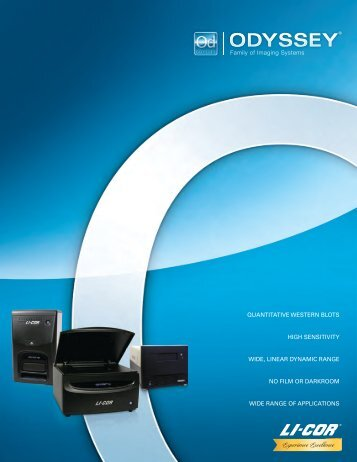 Odyssey Family of Imaging Systems Brochure