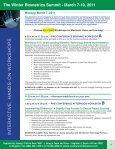 Biometrics Summit - Advanced Learning Institute - Page 4