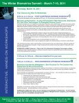 Biometrics Summit - Advanced Learning Institute - Page 5