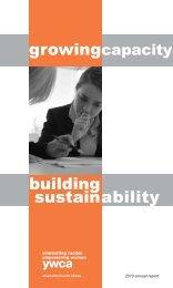 building sustain ability - YWCA USA
