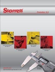 starrett.com Promotion 10.3 - JW Donchin CO.