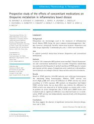 Prospective study of the effects of concomitant ... - ResearchGate