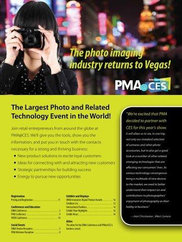 The photo imaging industry returns to Vegas! - Photo Marketing ...
