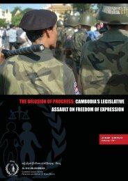 Legislative Assault on Freedom of Expression - Licadho