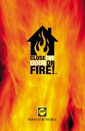 Close the door on fire - Pella Pressroom
