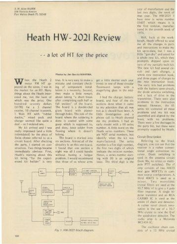 Heath HW-2021 Review - Nostalgic Kits Central