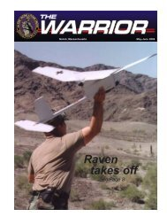 Raven takes off - Unmanned Aircraft & Drones