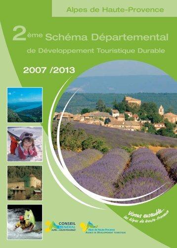 Schéma départemental du tourisme 2007-2013 - Conseil Général ...