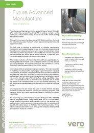 : Future Advanced Manufacture - Vero Software