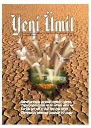 Dinî Ýlimler ve Kültür Dergisi YIL: 19 SAYI:78 EKñM ... - Yeni Ümit