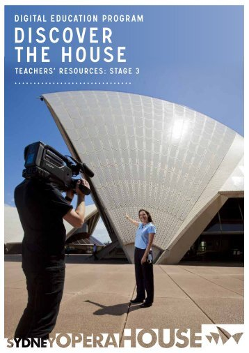 DISCOVER THE HOUSE - Sydney Opera House