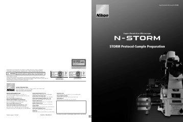 STORM Protocol-Sample Preparation - Nikon Imaging Center