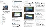 Cisco 8941 Quick Instructions