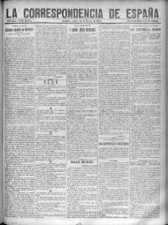 La Correspondencia de España - 100 años gran vía madrid