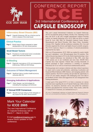 Small Bowel Tumors - International Conference on Capsule ...