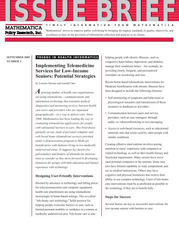 Trends in Health Informatics. Implementing Telemedicine Services ...