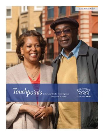 Annual Report 2010 - CommunityHealth