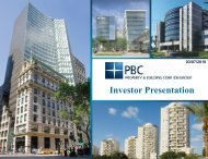 Investor Presentation - Property and Building