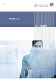 Marktbericht Oktober 2005