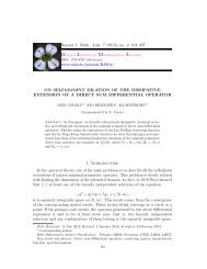 On selfadjoint dilation of the dissipative extension of a direct sum ...