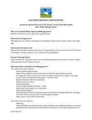Egg Carton FAQ - Animal Welfare Approved