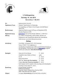 3. Frühlingsschau Sonntag, 10. Juni 2012 - SVPK