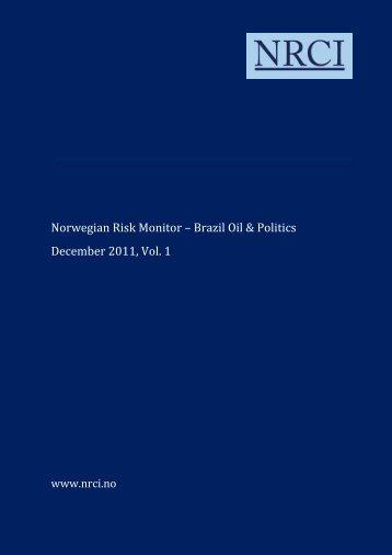 NRM Brazil Oil & Politics - The Brazilian-Norwegian Chamber of ...