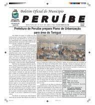 Boletim Oficial do Município - Peruíbe - Governo do Estado de São ...