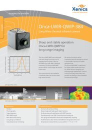 Onca-LWIR-QWIP-384 - XenICs