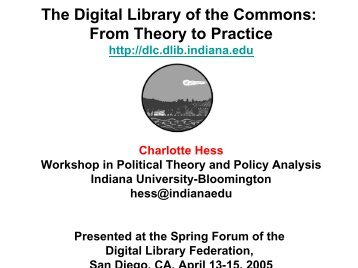 Presented - Digital Library Federation