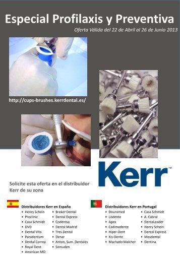 Especial Profilaxis y Preventiva - Kerr